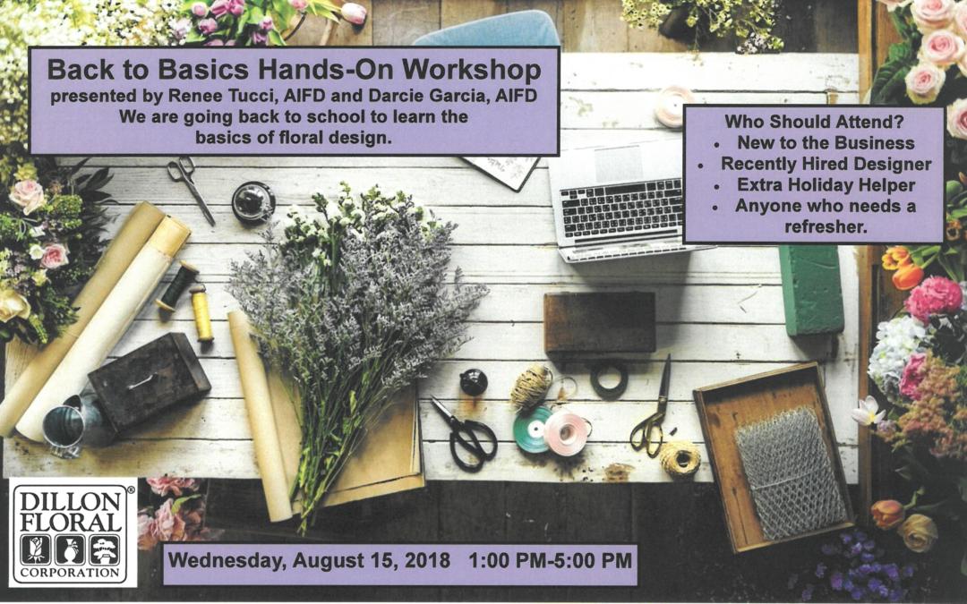 Back to Basics Hands-On Workshop